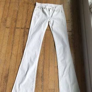 Ralph Lauren Polo white stretch jeans size 26